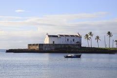Kirche von ³ Santo Antà NIO - Insel von Mosambik Stockbilder