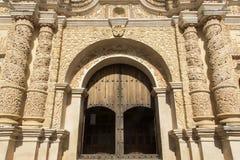 Kirche von Santo Domingo Lizenzfreies Stockfoto