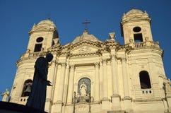 Kirche von Santo Francesco, Catania Lizenzfreie Stockfotos