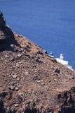 Kirche von Santorini Lizenzfreie Stockfotos