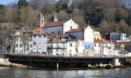 Kirche von Sao Pedro de Miragaia, Porto, Portugal Lizenzfreies Stockfoto