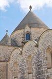 Kirche von SS Maria Addolorata Fasano Puglia Italien Lizenzfreie Stockfotografie