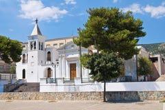 Kirche von SS. Maria della Luce. Mattinata. Puglia. Italien. Lizenzfreie Stockfotografie