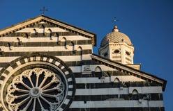 Kirche von St. Andrew Chiesa di Sant Andrea - Levanto, La Spezia, Italien - 17. Mai 2016 stockbild