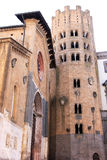 Kirche von St Andrew, Orvieto, Italien stockfotografie