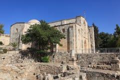 Kirche von St Anne u. Pool von Bethesda Site lizenzfreie stockfotografie