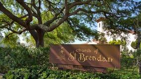 Kirche von St. Brendan Stockfotografie
