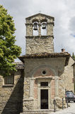 Kirche von St Christopher, Cortona, Toskana, Italien stockfotografie