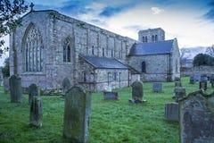 Kirche von St Cuthbert, Norham Lizenzfreie Stockbilder