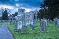 Kirche von St Cuthbert, Norham Lizenzfreies Stockfoto