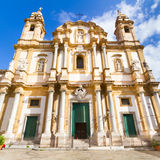 Kirche von St Dominic, Palermo, Italien. Stockfoto