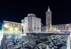 Kirche von St. Donat, Zadar Stockfotografie