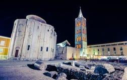 Kirche von St. Donat, Zadar Lizenzfreie Stockbilder