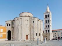 Kirche von St. Donat in Zadar lizenzfreies stockbild