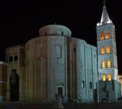 Kirche von St.Donatus Zadar Stockfotografie