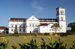 Kirche von St Francis von Assisi, altes Goa, Indien Stockfoto