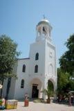 Kirche von St George in Sozopol Stockbild