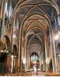 Kirche von St- Germaindes-pres in Paris Stockfotografie