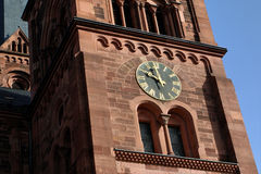 Kirche von St. Johann, Freiburg, Deutschland Lizenzfreie Stockfotografie