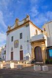 Kirche von St. Maria della Purity. Gallipoli. Puglia. Italien. Stockfotos