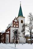 Kirche von St Mark in Litovel Lizenzfreie Stockbilder