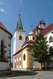 Kirche von St Mark in Litovel Stockfoto