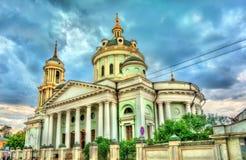 Kirche von St Martin der Beichtvater in Moskau, Russland stockfotografie