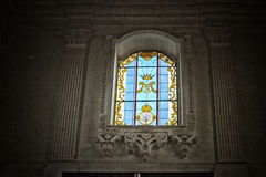 Kirche von St Mary von Konstantinopele in Lecce Lizenzfreie Stockfotos
