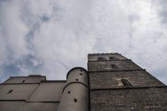 Kirche von St Moritz Stockbilder