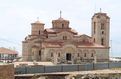 Kirche von St. Panteleimon in Ohrid Stockbilder