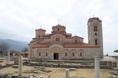 Kirche von St. Panteleimon in Ohrid Lizenzfreies Stockfoto