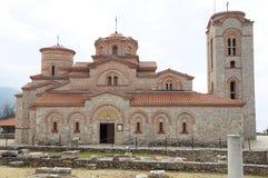 Kirche von St. Panteleimon in Ohrid Lizenzfreie Stockfotos