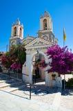 Kirche von St. Panteleimon. Rhodos, Griechenland. lizenzfreies stockbild