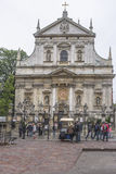 Kirche von St Peter u. von St Paul Stockfotos