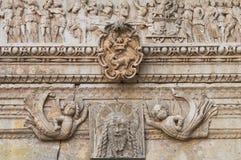 Kirche von St. Sebastiano. Galatone. Puglia. Italien. Lizenzfreies Stockfoto