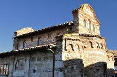 Kirche von St Stephen bei Sonnenaufgang, Bulgarien, Nessebar Lizenzfreies Stockfoto