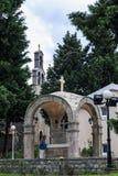 Kirche von St Thomas, Becici, Montenegro Lizenzfreies Stockbild