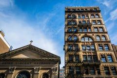 Kirche von St. Vincent de Paul in Manhattan, New York Lizenzfreie Stockfotos