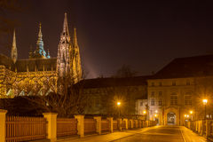 Kirche von St Vitus Lizenzfreies Stockfoto