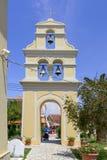 Kirche von StNicholas in Sidari Stockfotografie