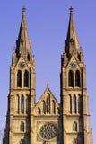 Kirche von Str. Ludmilla Lizenzfreies Stockbild