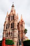 Kirche von Str. Michael, San Miguel de Allende Lizenzfreies Stockbild