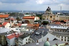 Kirche von Str. Michal - Olomouc Stockbild