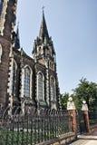 Kirche von Str. Olha und Elizabeth Stockbild