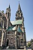 Kirche von Str. Olha und Elizabeth Stockfotografie