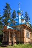 Kirche von Valaam Stockfoto