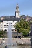 Kirche von verärgert in Frankreich Lizenzfreies Stockbild