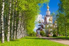 Kirche von Vera, von Nadezhda, von Lyubov und von Mutter von ihrem Sofia in der Stadt von Kirow Stockbild