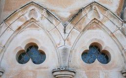 Kirche Windows Lizenzfreies Stockbild