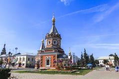 Kirche in Yaroslavl Lizenzfreies Stockbild